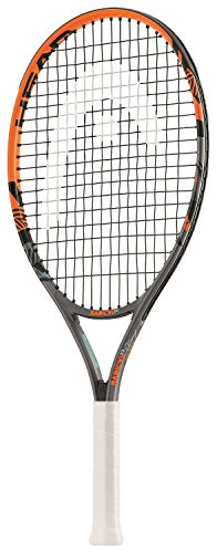 "HEAD Kinder Tennisschläger Radical, Schwarz/Orange, 23"" -"