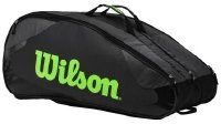 Wilson Tour Team Tennis-Tasche, Grau, One Size -