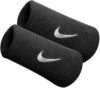 Nike SWOOSH DOUBLE-WIDE WRISTBANDS schwarz - MISC -
