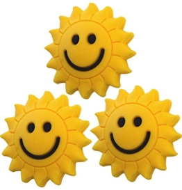 3 Sunshine Smiley Vibrationsdämpfer Tennis Emoji - 1