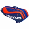 HEAD Kids 'Junior Combi Rebel Tennisschläger Tasche, Blau/Orange, One Size - 1